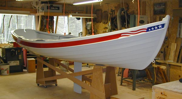 Christmas Wherry bow view
