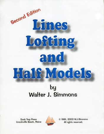 Lines, Lofting & Half Models book cover