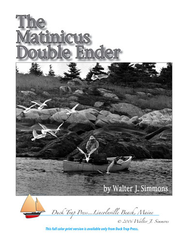 Matinicus Double Ender cover